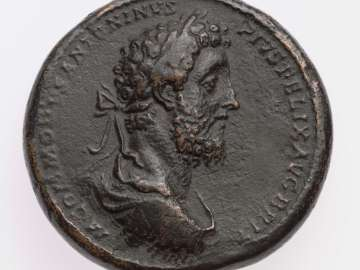 Medallion with bust of Commodus