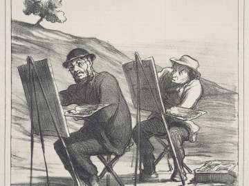 Les Paysagistes (Les Artistes)