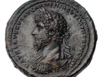 Medallion with bust of Lucius Verus