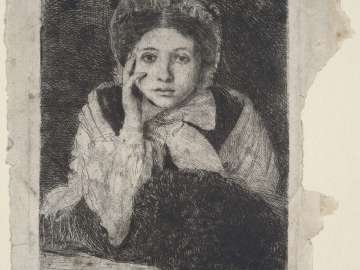 Marguerite De Gas, the Artist's Sister