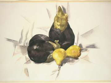 Eggplants and Pears