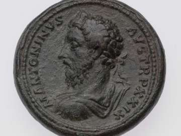 Medallion with bust of Marcus Aurelius