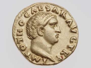Aureus with head of Otho