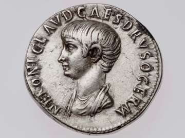 Cistophorus with bust of Nero