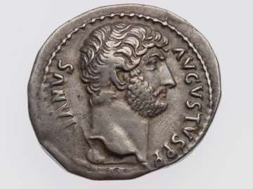 Cistophorus with head of Hadrian