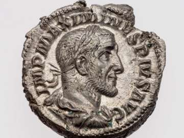 Denarius with bust of Maximinus I Thrax