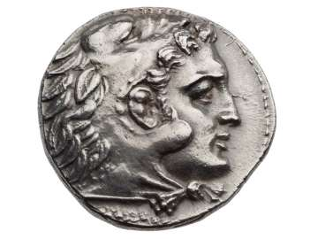 Tetradrachm of Aitolian League with head of Herakles