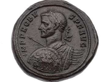 Medallion with bust of Probus