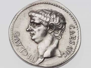Cistophorus with head of Claudius