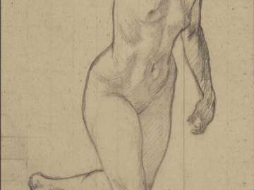 Nude (Sketch for Conquerors of Salamis)
