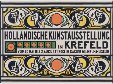 Holländische Kunstausstellung in Krefeld (Dutch Art Exhibition in Krefeld)