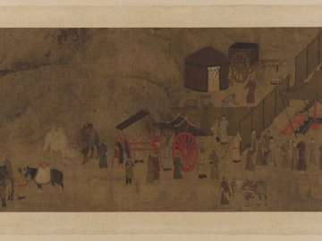 Lady Wenji's return to China: parting from nomad husband and children