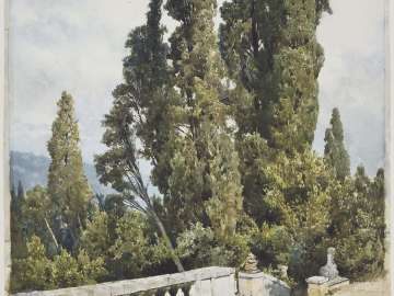 Cypresses of the Villa d'Este, Tivoli