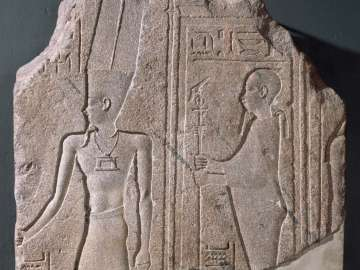 Relief of the gods Amen and Ptah-Sokar-Osiris
