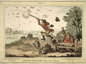 Cockney - Sportsmen shooting Flying