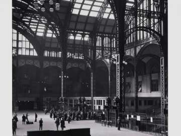 Penn Station from Berenice Abbott's New York