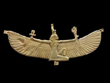 Winged Isis pectoral