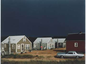 Storm, Corn Hill, Truro, Cape Cod, 1976