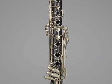 Clarinet in A (Mazzeo system)