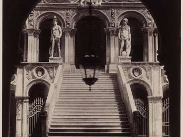 The Stairway of the Giants at the Ducal Palace, Venice
