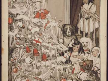 The Christmas Tree, illustration for The Christmas Letter