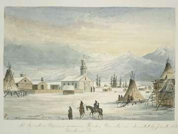 St. Ignatius Mission, Montana Territory