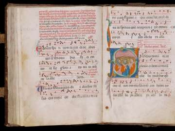 Gradual for Monastic Use (Augustinian?)