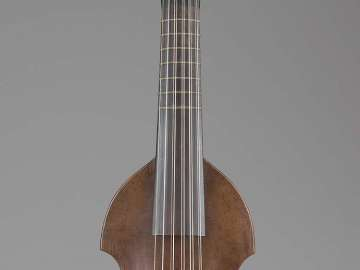 Cither viol (converted from pardessus de viole)