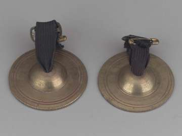 Pair of finger cymbals
