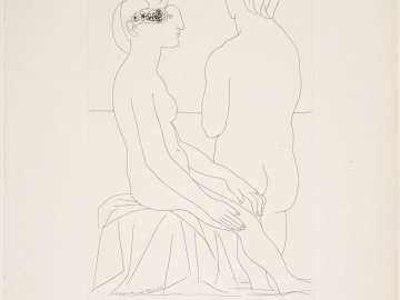 Seated Woman and Woman Seen from Behind
