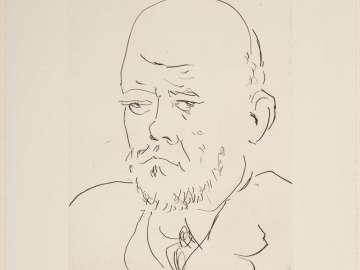 Portrait of Vollard, III
