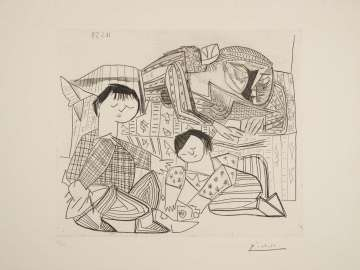 Mother and Children, 1953 (Mere et Enfants October 1, 1953)