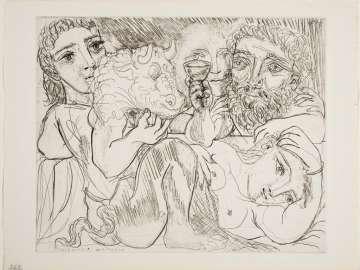 Minotaur, Drinker and Women