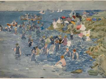 Bathing, Marblehead