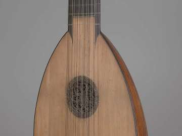 Lute (pastiche, after 17th-century Italian type)