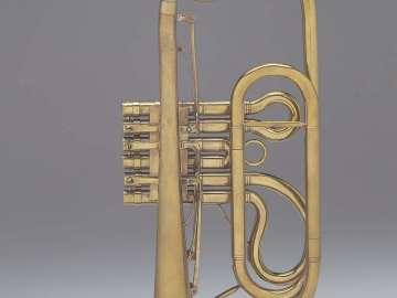 Valved trumpet