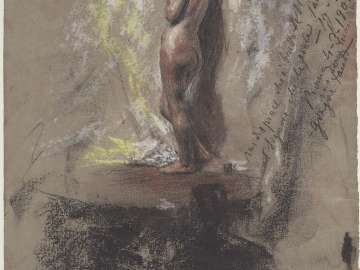 Study of a Nude Girl