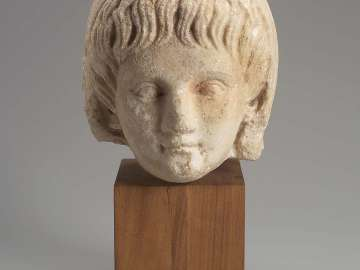 Portrait head of Britannicus