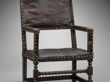 Leather great chair