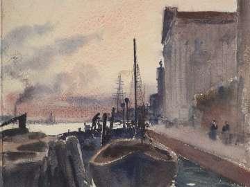 The Zattere, Venice: Evening
