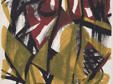 Tibor de Nagy Exhibition Poster