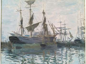 Ships in a Harbor