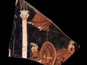 Fragment of a mixing bowl (volute-krater)