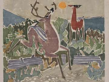 Deer on Chocorua