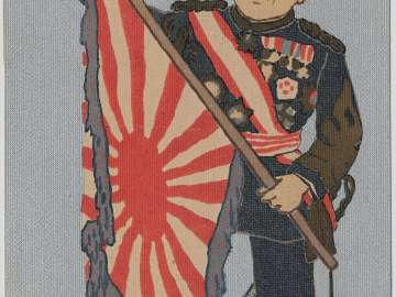 Marshal Oyama Iwao as Daikoku from the series Seven Gods of Fortune