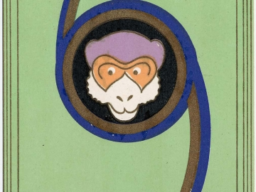 New Year's Card: Monkey