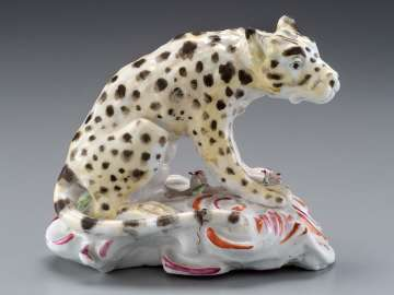 Figure of a Seated Leopard
