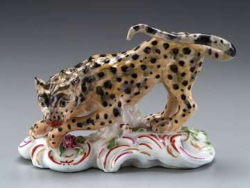 Figure of a Leopard