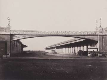 Footbridge, Railroad Station, Milan