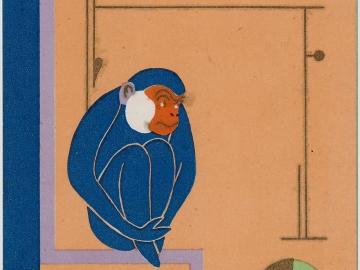 New Year's Card: Monkey